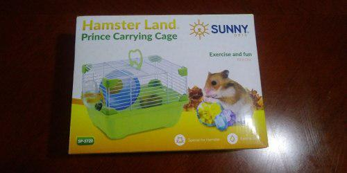 Sunny Jaula Hamster Land Prince Carrying Cage Sp3720