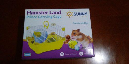 Sunny Jaula Hamster Land Prince Carrying Cage Sp3721