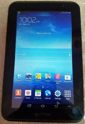 Tablet Samsung Galaxy Tab 2 7.0 Modelo Gt P