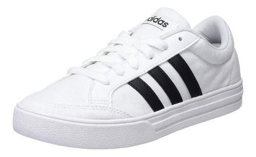 Tenis adidas Hombre Blanco Vs Set Casual Clásico Aw