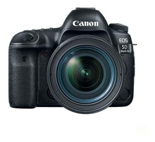 Camara Canon Eos 5d Mark Iv Con Lente Ef mm F/4l