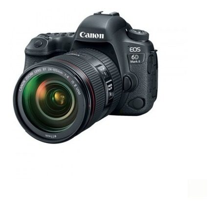 Camara Canon Eos 6d Mark Ii Con Ef  F/4l Is Ii Usm