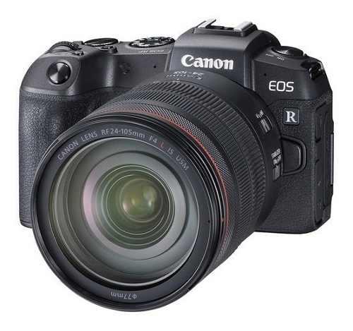 Camara Canon Eos Rp Con Rf mm F/4l Es Usm Y Adaptador