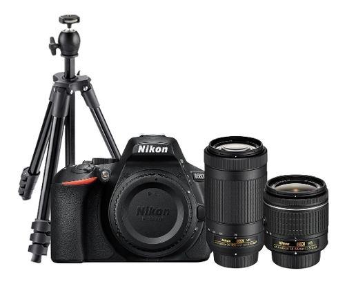 Camara Nikon D + Lente Af-p mm Vr + Lente Af-p 70-