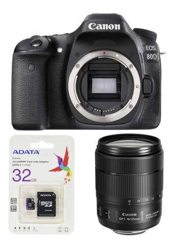 Canon Eos 80d Kit Lente mm Is Usm Nano Msi Nueva Meses