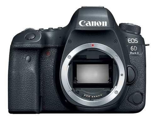 Cámara Canon Eos 6d Mark Ii (cuerpo) - Envio Gratis