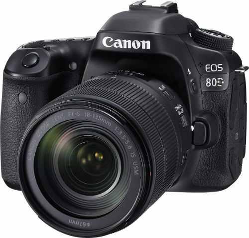 Cámara Canon Eos 80d Dslr mm 24.2 Mp - Envío