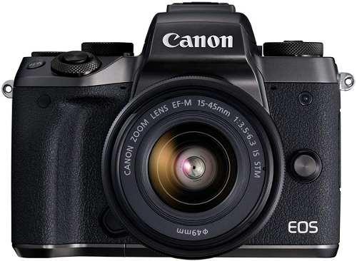 Cámara Canon Eos M5 Con Lente Ef-m  Is Stm Negro