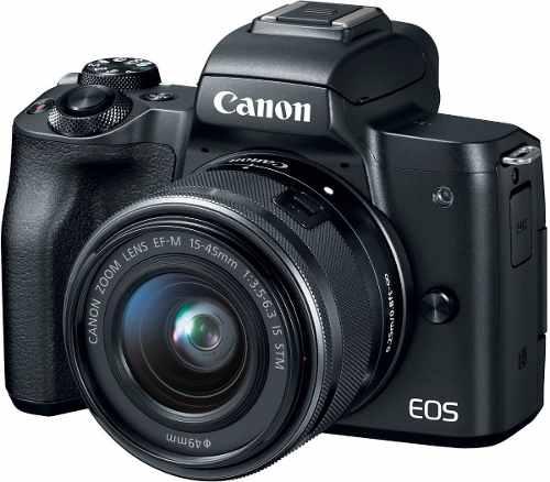 Cámara Canon Eos M50 Lente Ef-m mm Is Stm