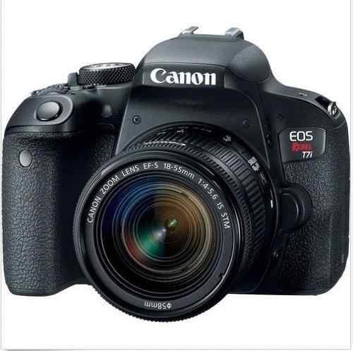 Cámara Canon Eos Rebel 800d / T7i 24.2mp Lente Ef-s mm