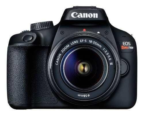 Cámara Canon Eos Rebel T100 Reflex Lente mp 18msi