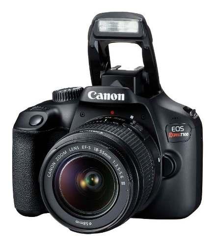 Cámara Canon Eos Rebel T100 Reflex Lente mp
