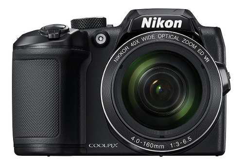 Cámara Digital Nikon Coolpix Bmp 40x Zoom -negro