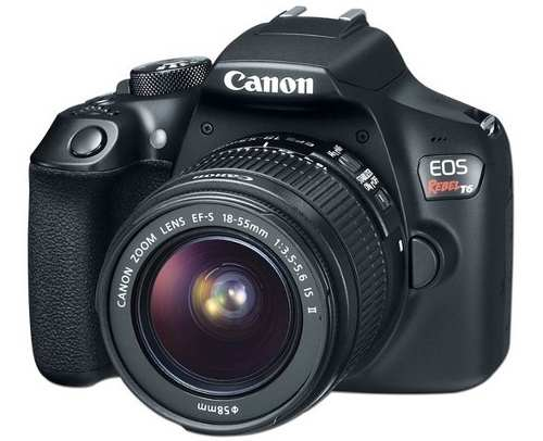 Cámara Fotográfica Digital Canon Eos Rebel T6, 18 Mp