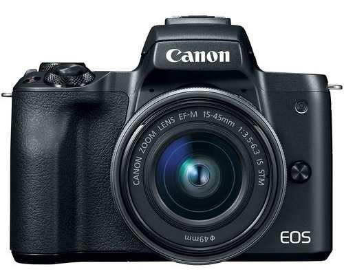 Cámara Mirrorless Canon Eos M50 Con Adaptador Y Lente