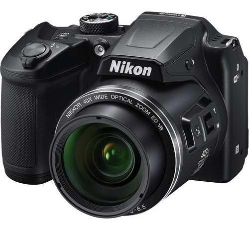 Cámara Nikon Coolpix B500 Negro 16mp