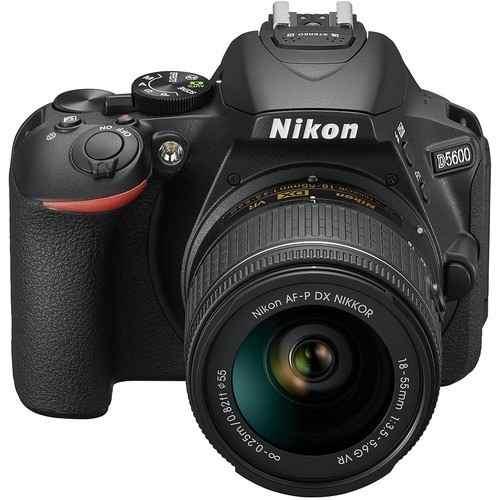 Cámara Nikon D Con Lente Af-p mm Vr