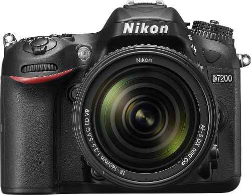 Cámara Nikon D Con Lente Af-s Dx Nikkor mm