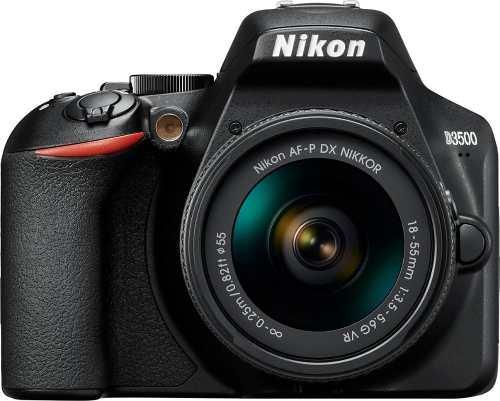 Cámara Nikon D Dslr Con Lente Af-p Dx Nikkor  Vr