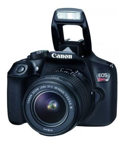 Cámara Reflex Canon Eos Rebel T6 / Lente