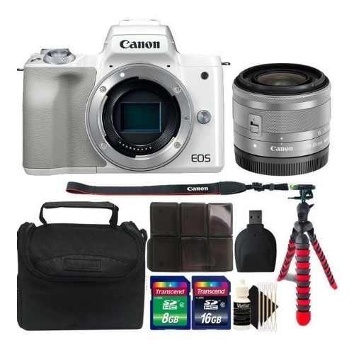 Kit Cámara Digital Sin Espejo Canon Eos M50 + Lente mm