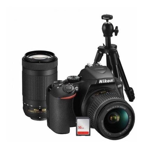Kit Cámara Nikon D Con Lente mm, Lente mm,