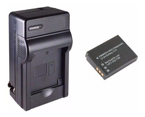 Kit De 1 Cargador Y 1 Batería En-el12 Para Cámara Digital