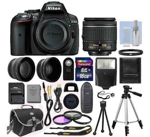 Kit Fotografico Nikon D Slr mm + 18 Artículos