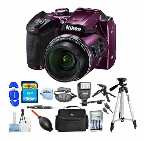 Kit Fotográfico Cámara Digital Nikon Coolpix B500