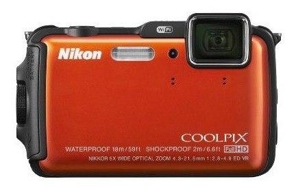 Nikon Coolpix Aw Mp Cámara Digital Con Wi Fi Y Imperm