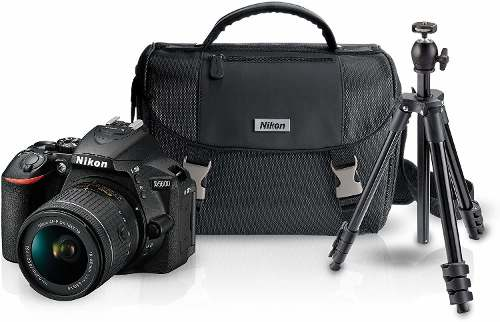 Nikon D, Lente mm, Estuche, Tripie Y Sd Card 16gb