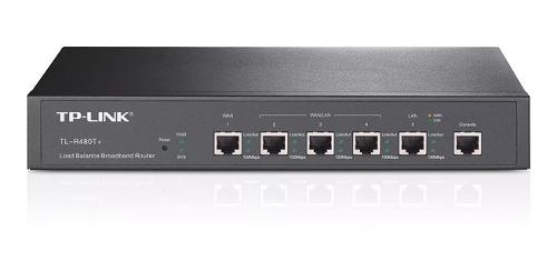 Router Balanceador Tp-link Tl-r480t+ 3 Ptos Multi Wan / Lan