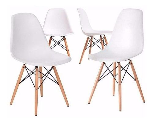 Silla Eames Blanca 4 Pack - Promoción By Arei Design!