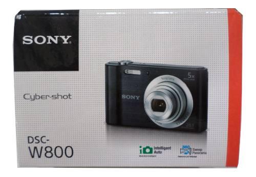 Sony Dsc W800 Camera Digital 20.1 Megapixeles Envio Gratis