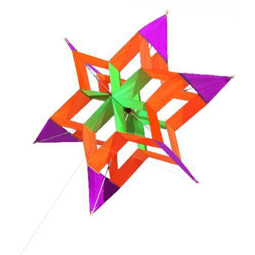 39.4 X 15.0 Pulgadas. Colorido De Una Lnea De Lotus Kite