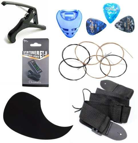 Afinador Kit De Accesorios Complementarios Para Guitarra