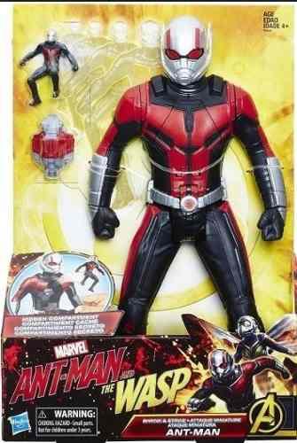 Ant Man Ataque Miniatura Figura De Accion Hasbro 12 Antiman