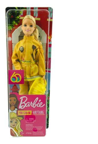 Barbie Bombero 60 Aniversario Mattel