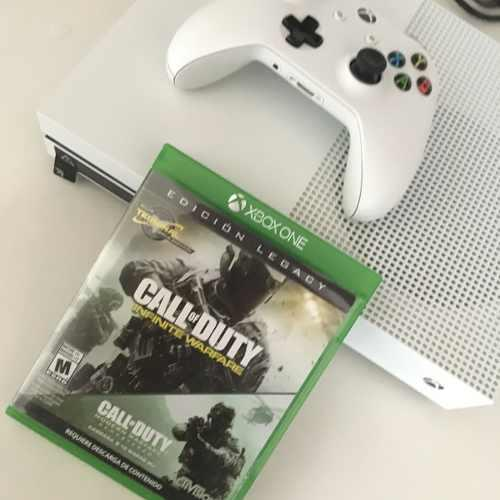 Consola Xbox One S 500gb Con 2 Juegos Call Of Duty Cd