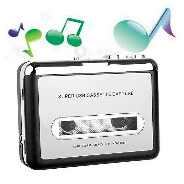Convertidor De Cassette A Mp3 Digital Por Usb Reproductor