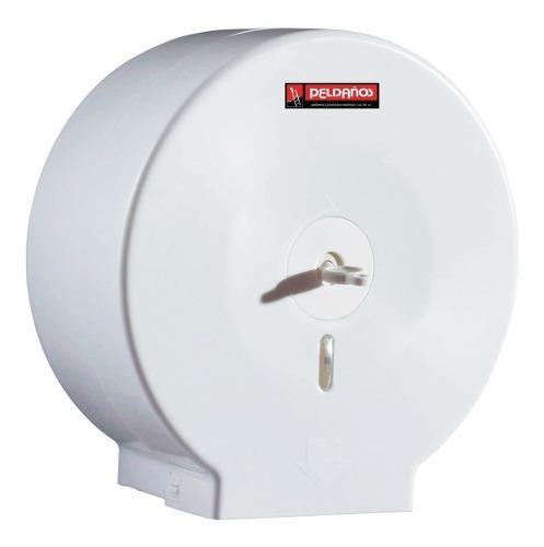 Despachador De Papel Higienico Blanco Dispensador Peldaños