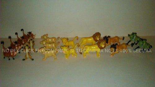 Figuras Miniatura El Rey Leon Huevo Sorpresa Chimos