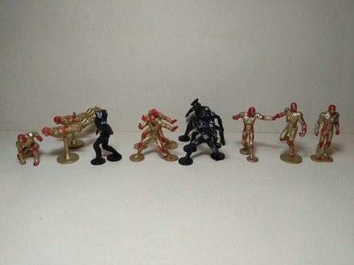 Figuras Miniatura Iron Man 3 Huevo Sorpresa Chimos