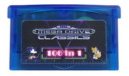 Gba Sms 106 En 1 Juegos Sega Maestro Sistema Juego Avanzar