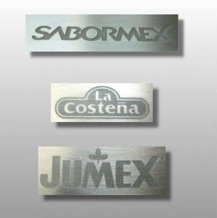 Grabado en Joyería Metal Acrílico Lamicoid Placas Acero