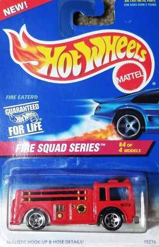 Hotwheels Fire Squad Series # Camion Bomberos