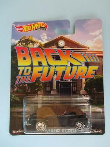 Hotwheels Premium Back To The Future Ford Super De Luxe