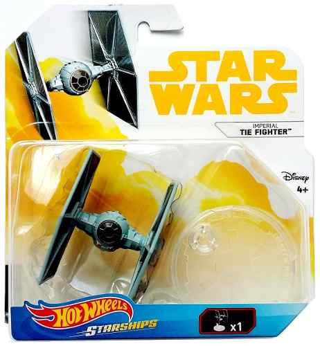Imperial Tie Fighter Star Wars Hotwheels Naves Miniatura