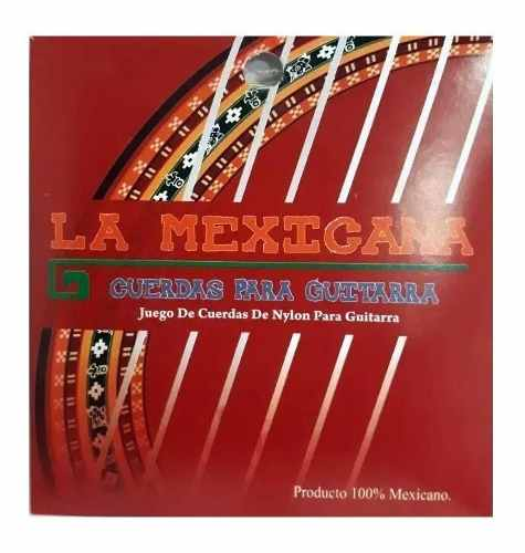 Jgo De Cuerdas Guitarra Acústica Economica Nylon La