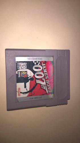 Juego James Bond 007 Game Boy